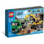 LEGO City 4203 Excavator Transporter