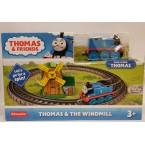 Thomas & Friends Push Along Thomas and the Windmill Metal Train Engine Playset