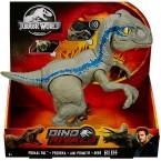 Mattel Jurassic World Primal Pal Velociraptor Blue Dinosaur