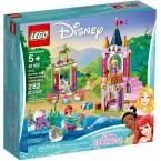 LEGO Disney Princess 41162 Ariel, Aurora, and Tiana's Royal Celebration