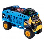 Hot Wheels Monster Trucks Mover (With 3 Monster Trucks)