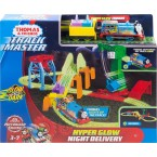 Thomas & Friends Track Master Hyper Glow Night Delivery Set