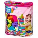Mega Bloks First Builders Big Building Bag (Pink)