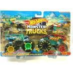 Hot Wheels Monster Trucks Too S'Cool vs Demo Derby (Demolition Doubles)