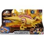 Mattel Jurassic World Sound Strike Parasaurolophus Dinosaur (Camp Cretaceous)