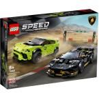 LEGO Speed Champions 76899 Lamborghini Urus ST-X & Huracán Super Trofeo EVO