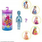 Mattel Barbie Color Reveal Chelsea Doll (Purple Cover Random Asst)