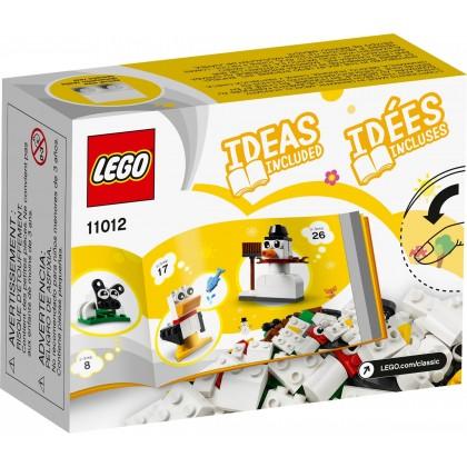 LEGO Classic 11012 Creative White Bricks