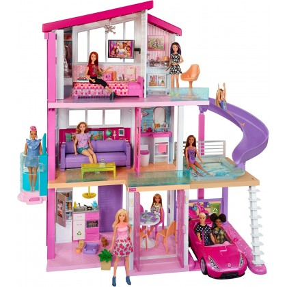 Mattel Barbie Dreamhouse Dollhouse with Pool, Slide and Elevator
