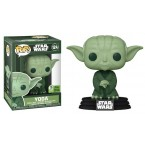 FUNKO POP! Star Wars Vinyl Spring Convention 2021 Yoda (Military Green) (ECCC) (IE)