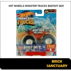 Hot Wheels Monster Trucks Big Foot 2021 28/75 (6/7 Hot Wheels Monster Trucks Live)