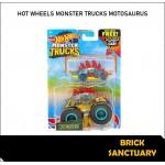 Hot Wheels Monster Trucks Motosaurus (Tael) & Free Hot Wheels Die-Cast Car