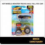 Hot Wheels Monster Trucks Haul Y'all & Crushed Wagon Flat Iron