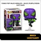 FUNKO POP! Games : Miles Morales - Miles (Purple Reign Suit) (54695)