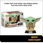 FUNKO POP! Star Wars: Mandalorian - The Child with Frog (49932)
