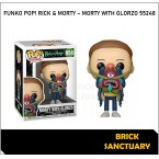 FUNKO POP! Animation : Rick & Morty - Morty with Glorzo (55248)