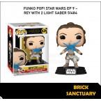 FUNKO POP! Star Wars : Rise of Skywalker - Rey with 2 Light Saber (51484)
