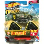 Hot Wheels Monster Trucks Invader 18/75 ( 2/6 Twisted Tredz)
