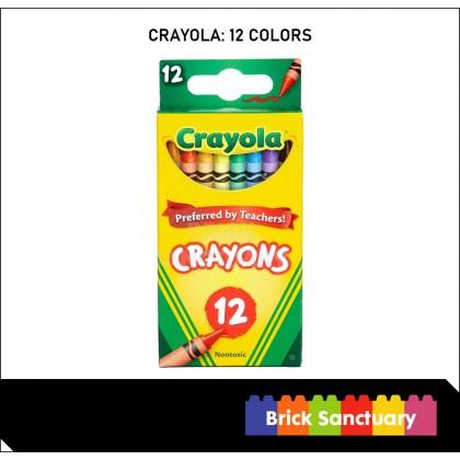 CRAYOLA 12 Count Colors Crayons