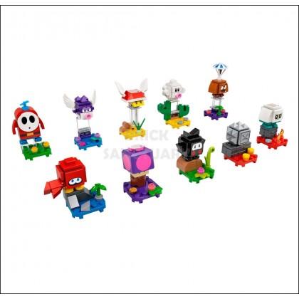 LEGO 71386 : Super Mario Series 2 Complete Full Set of 10 Pcs Minifigures