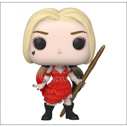FUNKO POP! Movies: TheSuicideSquad - Harley Quinn (Damaged Dress) (56016)