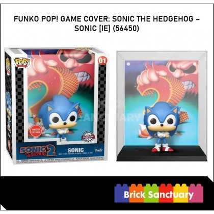 FUNKO POP! Game Cover: Sonic the Hedgehog - Sonic [IE] (56450)