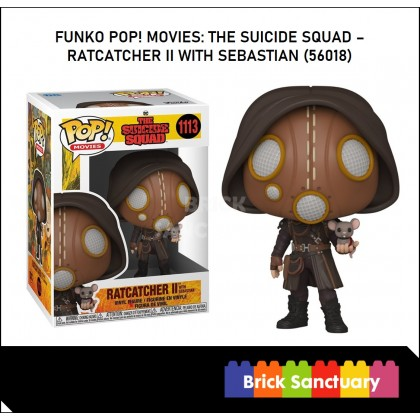 FUNKO POP! Movies: TheSuicideSquad - Ratcatcher II with Sebastian (56018)