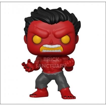 FUNKO POP! Marvel: Hulk - Red Hulk [IE] (55084)