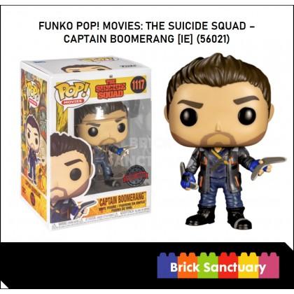 FUNKO POP! Movies: TheSuicideSquad - Captain Boomerang [IE] (56021)