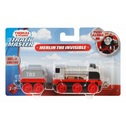 Thomas and Friends Push-Along Merlin The Invisible Metal Engine