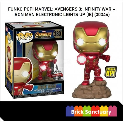 FUNKO POP! Vinyl Marvel: Avengers 3: Infinity War - Iron Man Electronic Lights Up (IE) (30344)