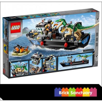 LEGO Jurassic World 76942 Baryonyx Dinosaur Boat Escape