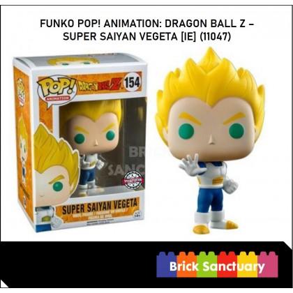 FUNKO POP! Vinyl Animation: Dragon Ball Z - Super Saiyan Vegeta [IE] (11047)