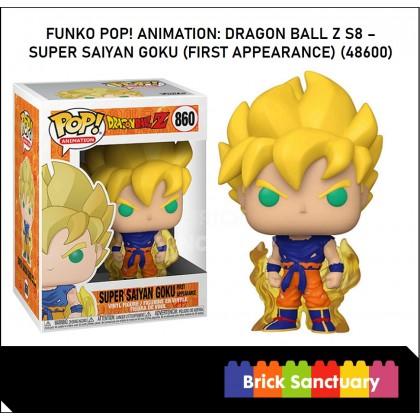 FUNKO POP! Vinyl Animation: Dragon Ball Z S8 - Super Saiyan Goku (First Appearance) (48600)