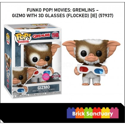 FUNKO POP! Vinyl Movies: Gremlins - Gizmo with 3D Glasses (Flocked) [IE] (57937)