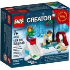 LEGO Seasonal 40107 Winter Skating Scene