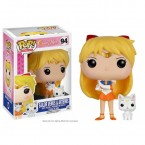 FUNKO POP! Vinyl Animation: Sailor Moon - Sailor Venus w/ Artemis (7300)