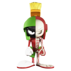 Mighty Jaxx's XXRAY DC Comics Marvin The Martian (04)