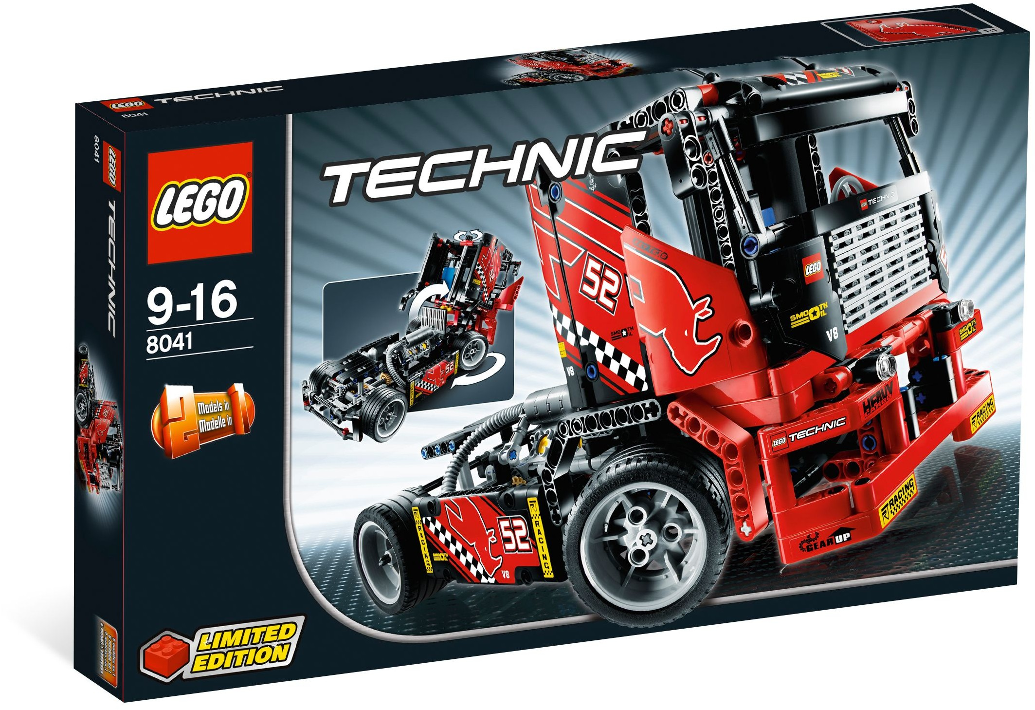 lego technic 8041 race truck. Black Bedroom Furniture Sets. Home Design Ideas